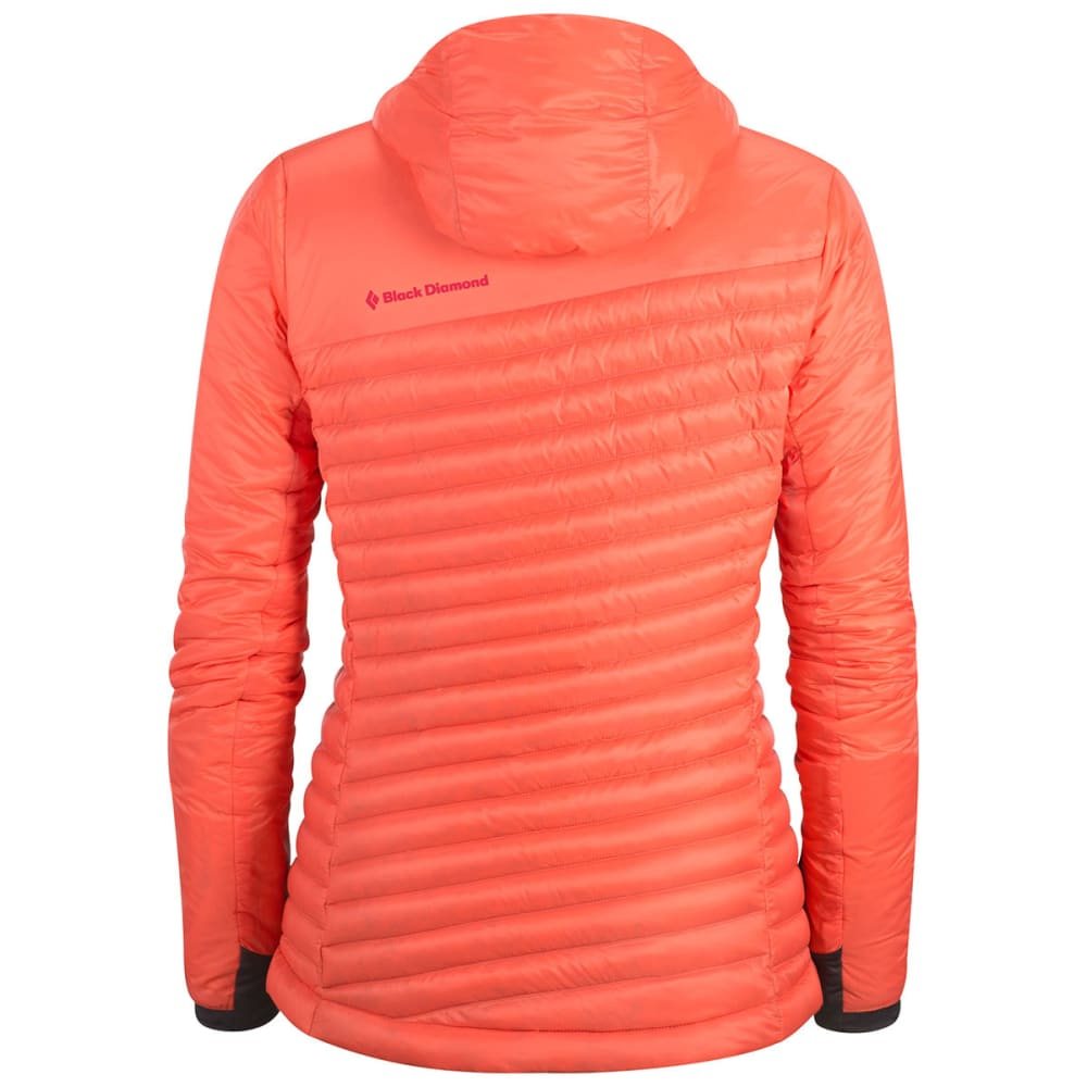 BLACK DIAMOND Women's Hot Forge Hybrid Hoody - CORAL
