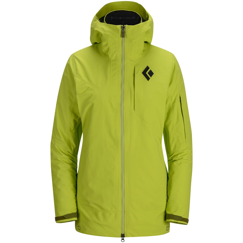 BLACK DIAMOND Women's Zone Shell Jacket - ALOE