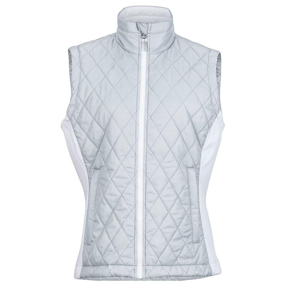 MARMOT Women's Kitzbuhel Vest - 1843-BRIGHT STEEL/WH