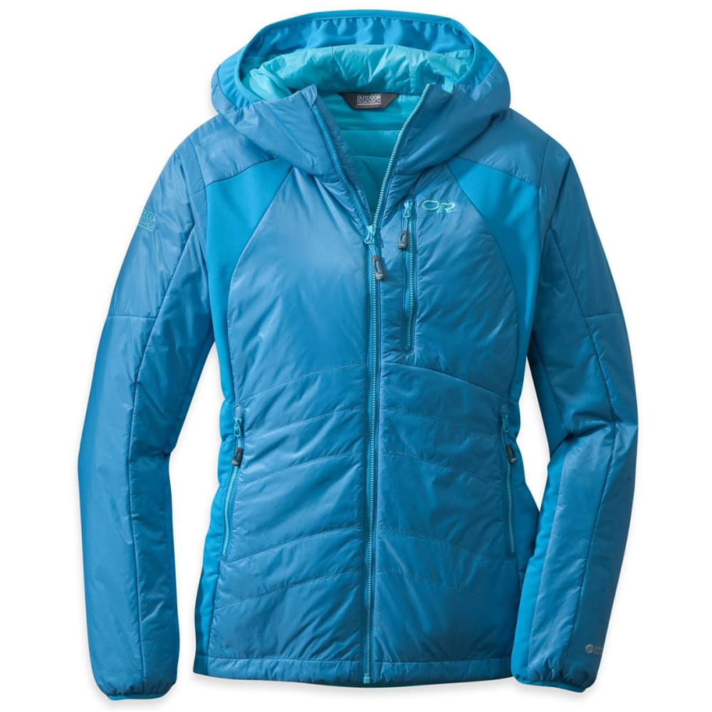 OUTDOOR RESEARCH Women's Cathode Hoodie - HYDRO