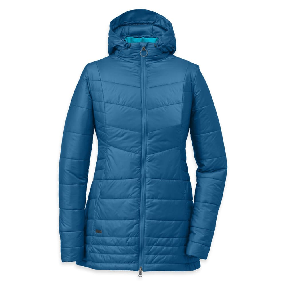 OUTDOOR RESEARCH Women's Breva Parka with Hood - CORNFLOWER