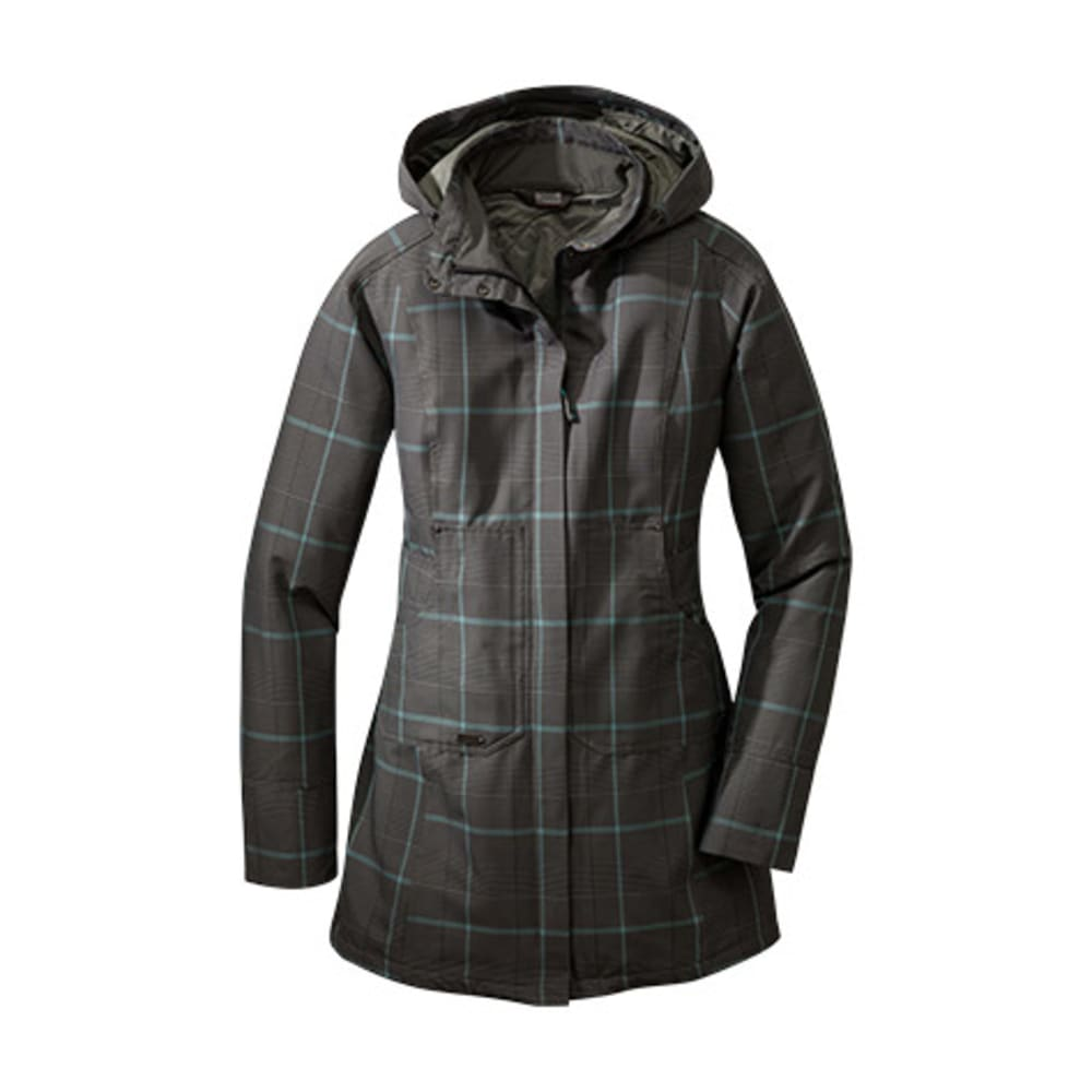 OUTDOOR RESEARCH Women's Decibelle Jacket - PEWTER/RIO