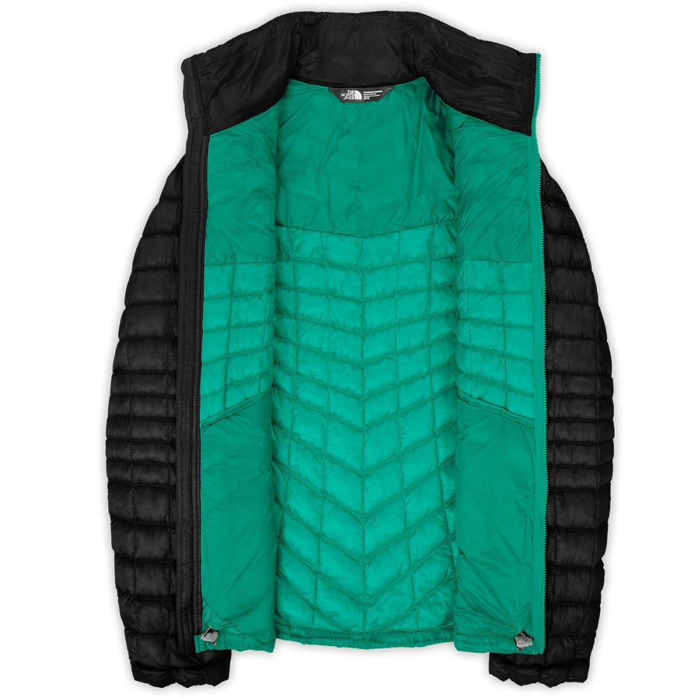 THE NORTH FACE Women's Thermoball™ Full Zip Jacket - KW1-TNF BLK/KOKOMO
