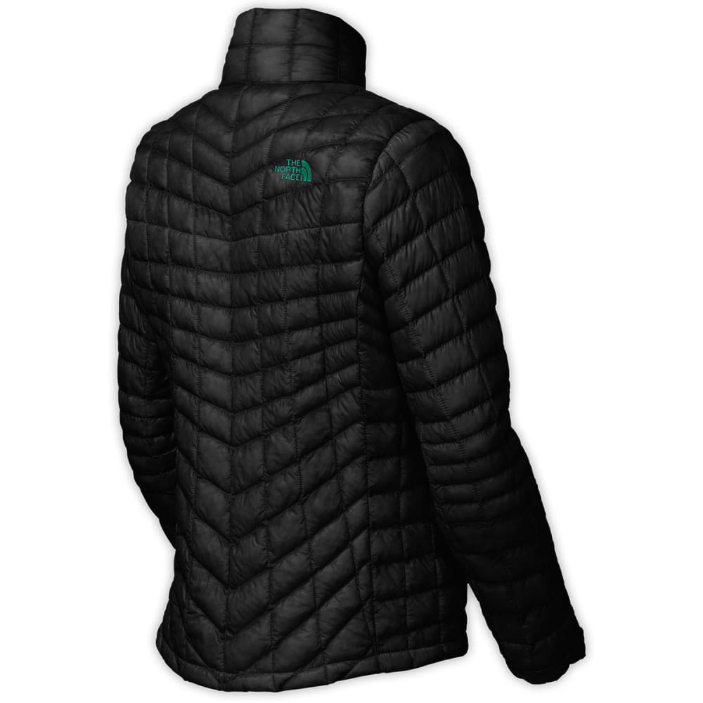 THE NORTH FACE Women's Thermoball™ Full Zip Jacket - KW1-TNF BLK/KOKOMO