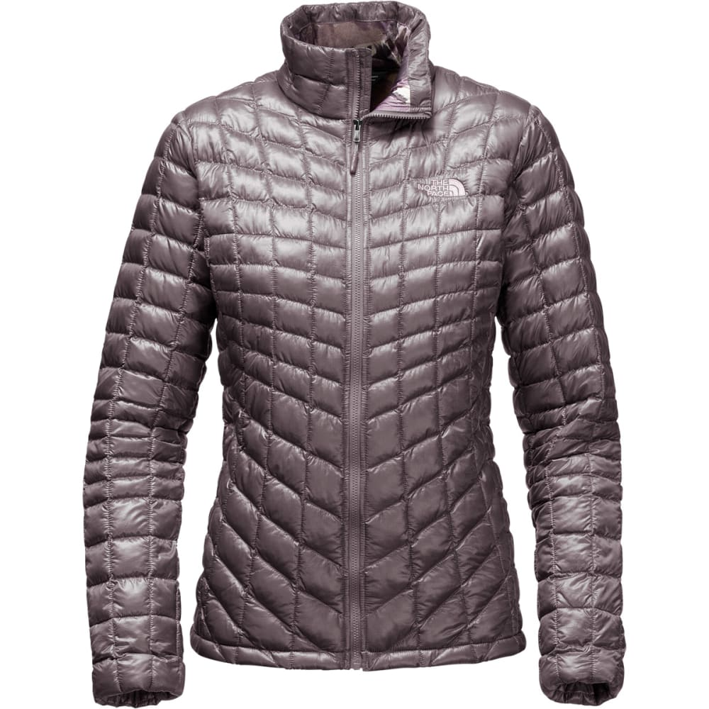 437dbc13c6 THE NORTH FACE Women's Thermoball Full Zip Jacket - RABBIT GREY