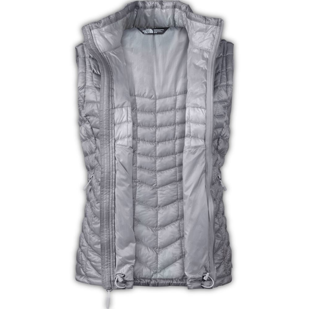 THE NORTH FACE Women's Thermoball Vest - METALLIC SILVER