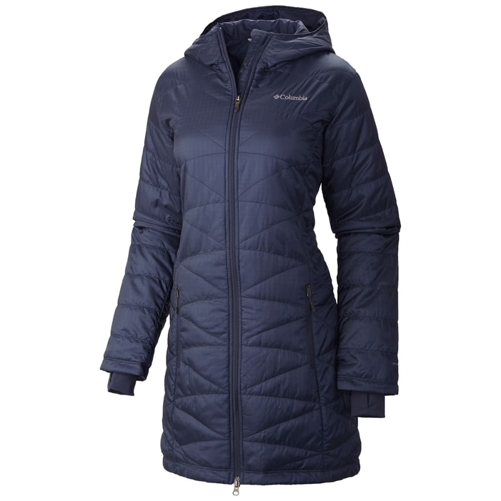 b06b159657c COLUMBIA Women  39 s Mighty Light Hooded Jacket - NOCTURNAL