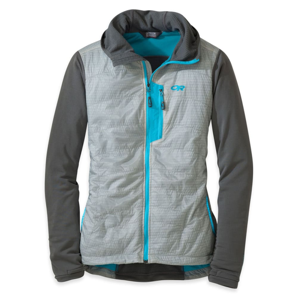 OUTDOOR RESEARCH Women's Deviator Hoody - ALLOY/PEWTER