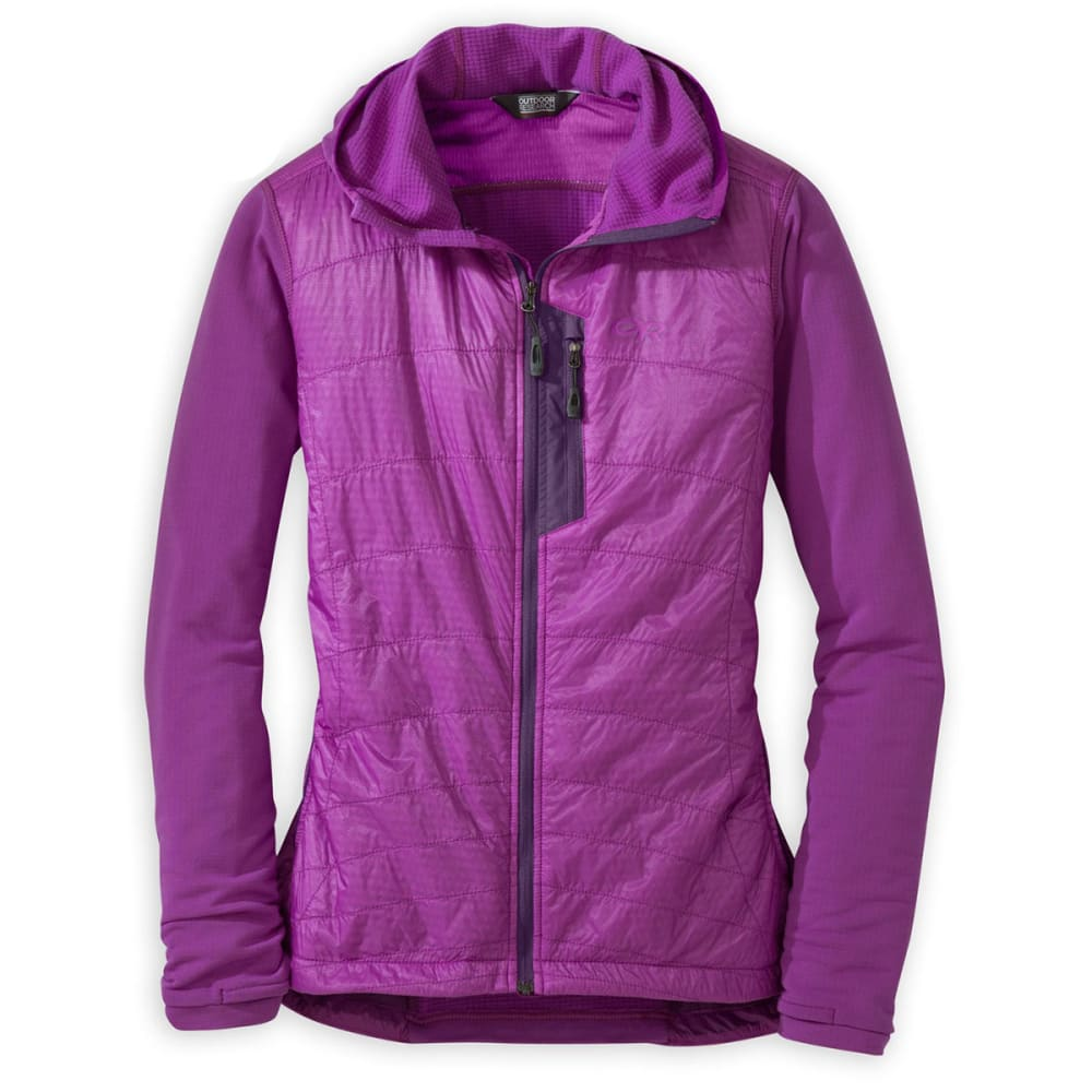 OUTDOOR RESEARCH Women's Deviator Hoody - ULTRAVIOLET