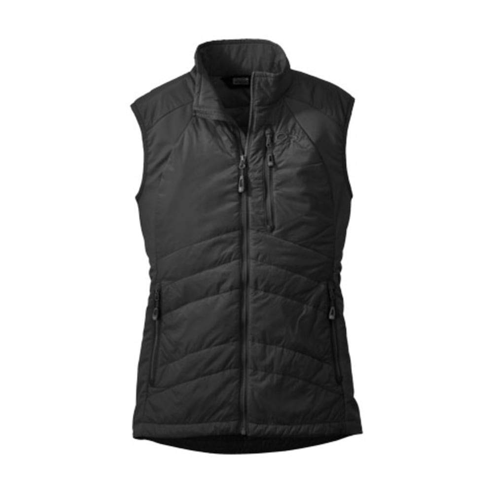 OUTDOOR RESEARCH Women's Cathode Vest - BLACK/CHARCOAL