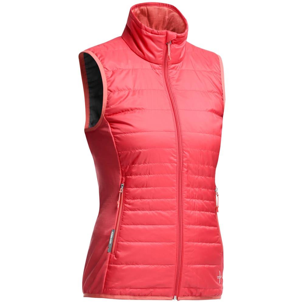 f69bbe81eb ICEBREAKER Women's Helix Vest - GRAPEFRUIT/ ...