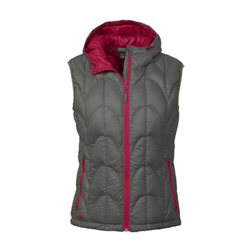 OUTDOOR RESEARCH Women's Aria Vest - PEWTER/DESERT SUNRIS