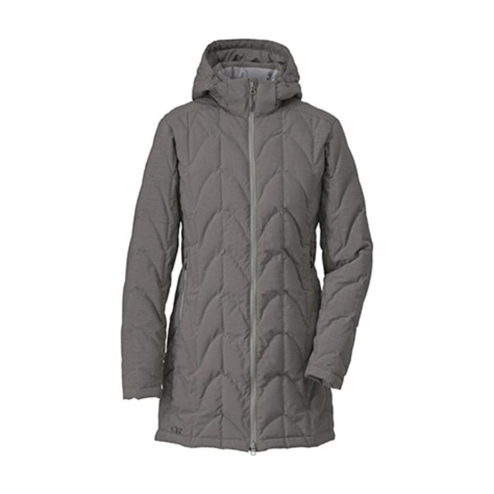 OUTDOOR RESEARCH Women's Aria Storm Parka - PEWTER