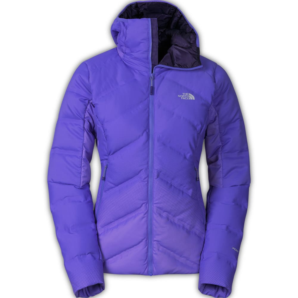 THE NORTH FACE Women's FuseForm™ Dot Matrix Hooded Down Jacket - STARRY PURPLE