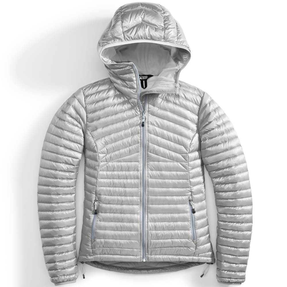 EMS Women's Feather Pack 800 Downtek Hooded Jacket - HIGHRISE