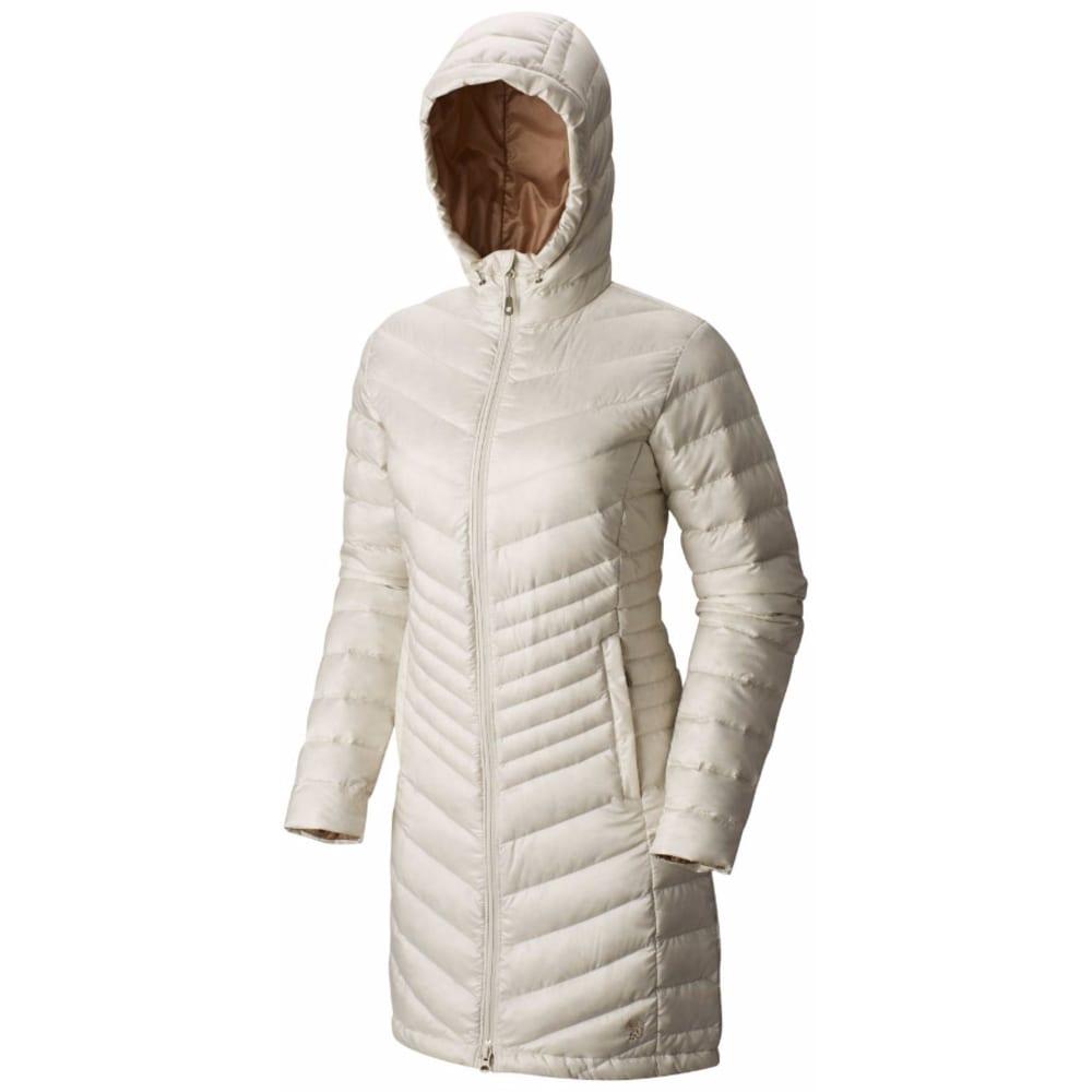 MOUNTAIN HARDWEAR Women's Nitrous™ Hooded Down Parka - 022-STONE