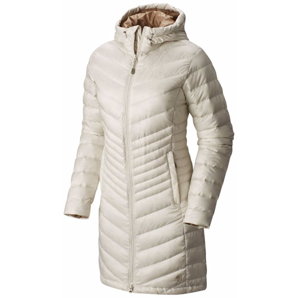 MOUNTAIN HARDWEAR Women's Nitrous™ Hooded Down Parka - 022-STONE