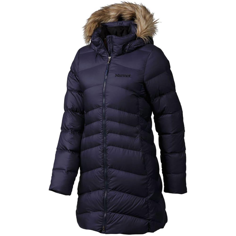 Marmot coat for women