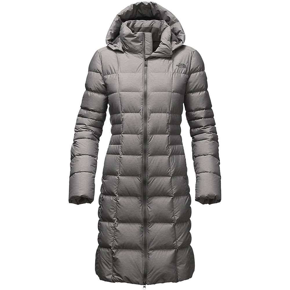 THE NORTH FACE Women's Metropolis II Parka - TNF MED GRY- DYY