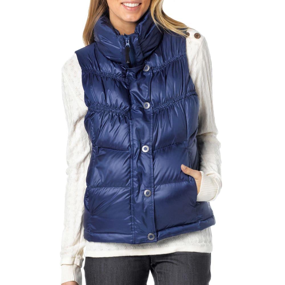 PRANA Women's Milly Down Vest - TWILIGHT