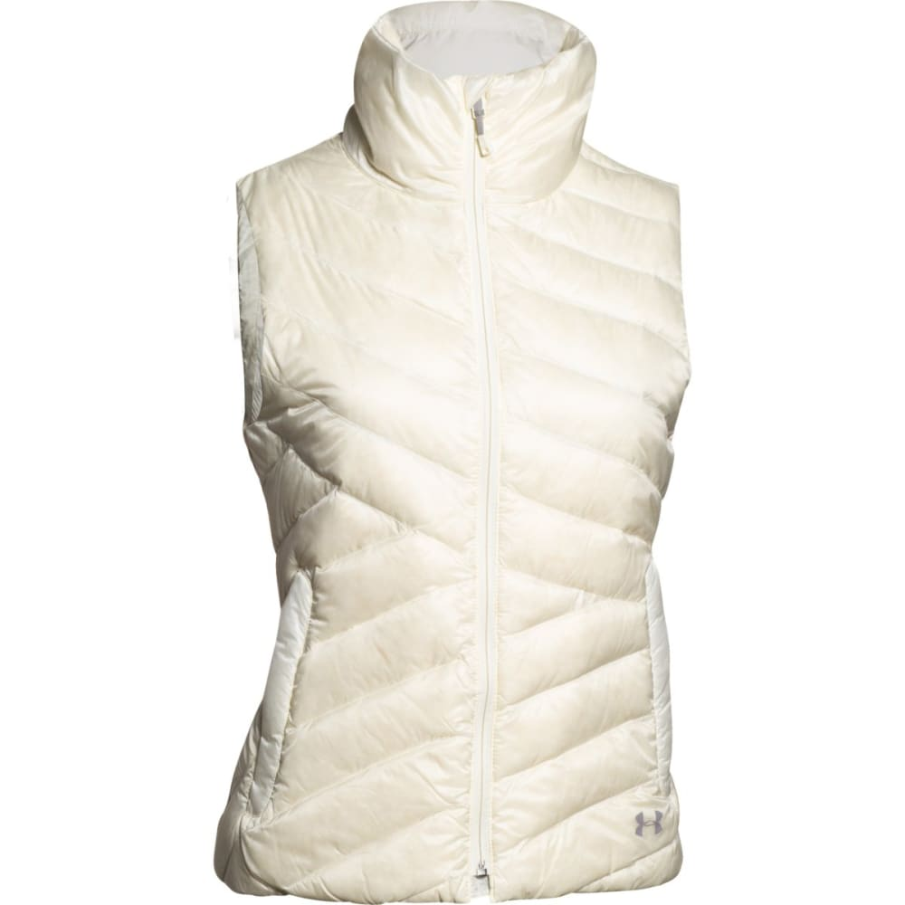 UNDER ARMOUR Women's ColdGear® Infrared Uptown Vest - IVORY BOULDER