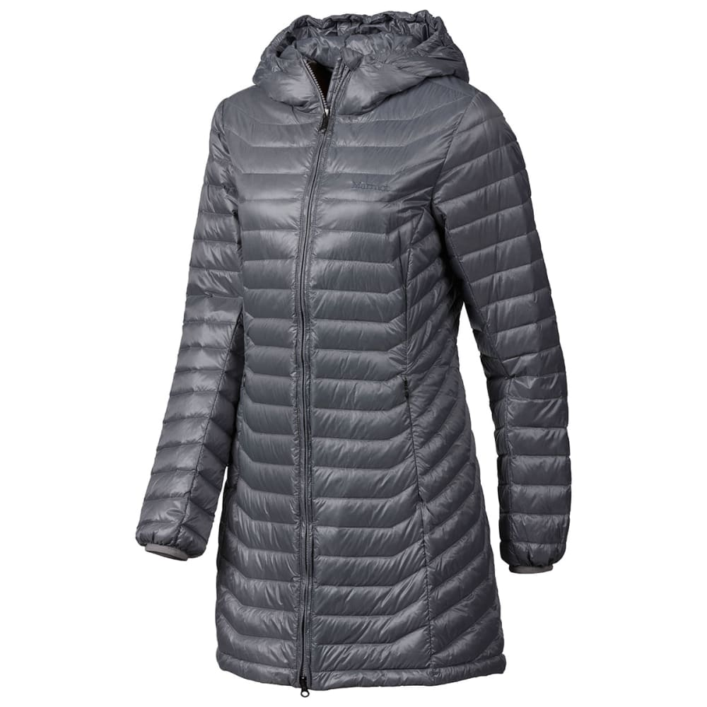 MARMOT Women's Sonya Hooded Jacket - STEEL