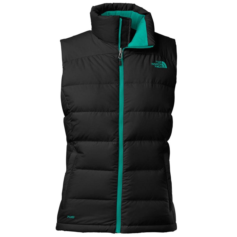THE NORTH FACE Women's Nuptse 2 Vest - BLACK/GREEN
