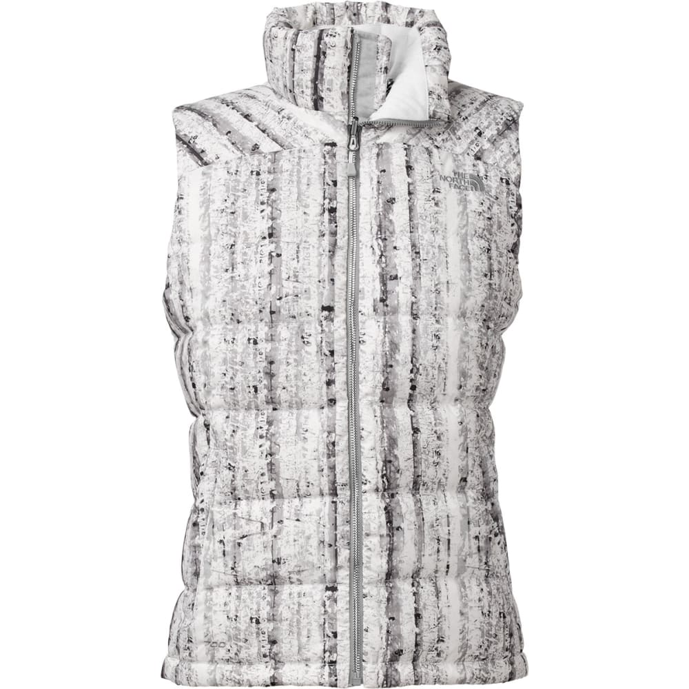 THE NORTH FACE Women's Nuptse 2 Vest - WHITE BIRCH PRINT
