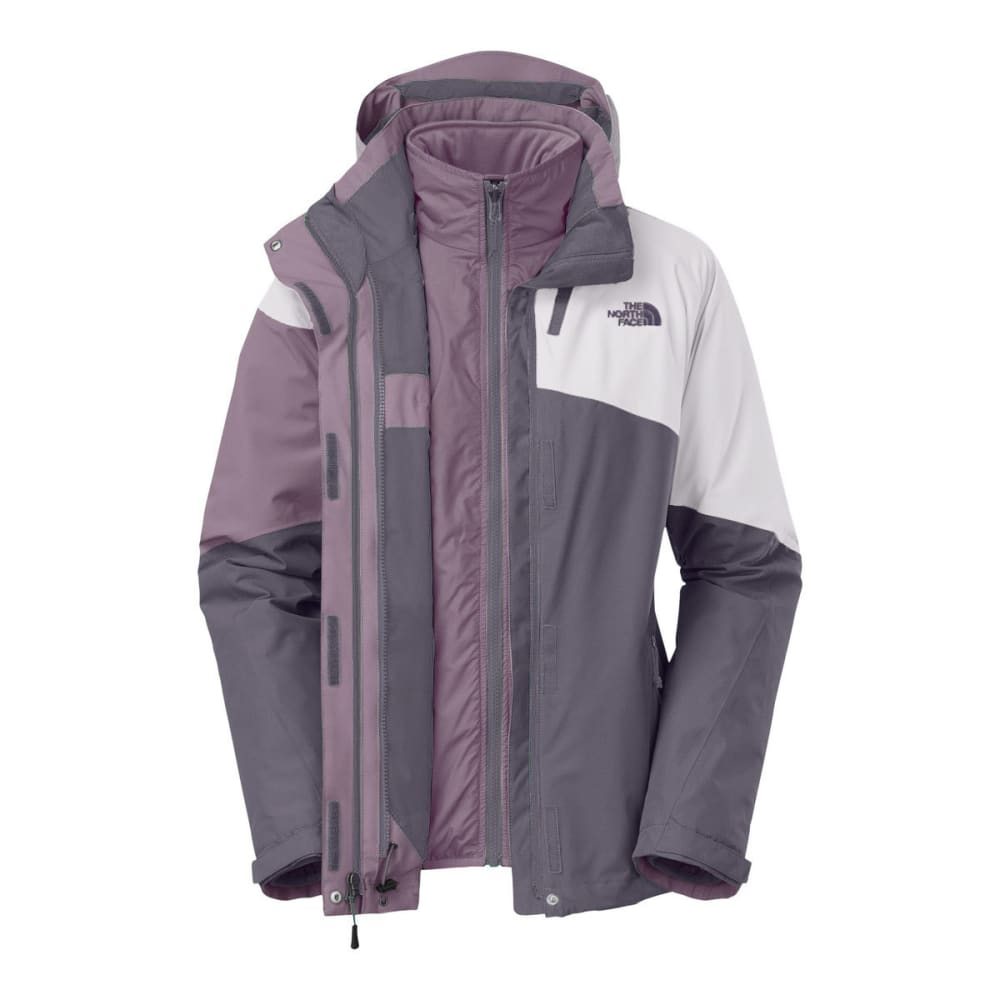 THE NORTH FACE Women's Cinnabar Triclimate Jacket - RABBIT GREY/QU-LJN