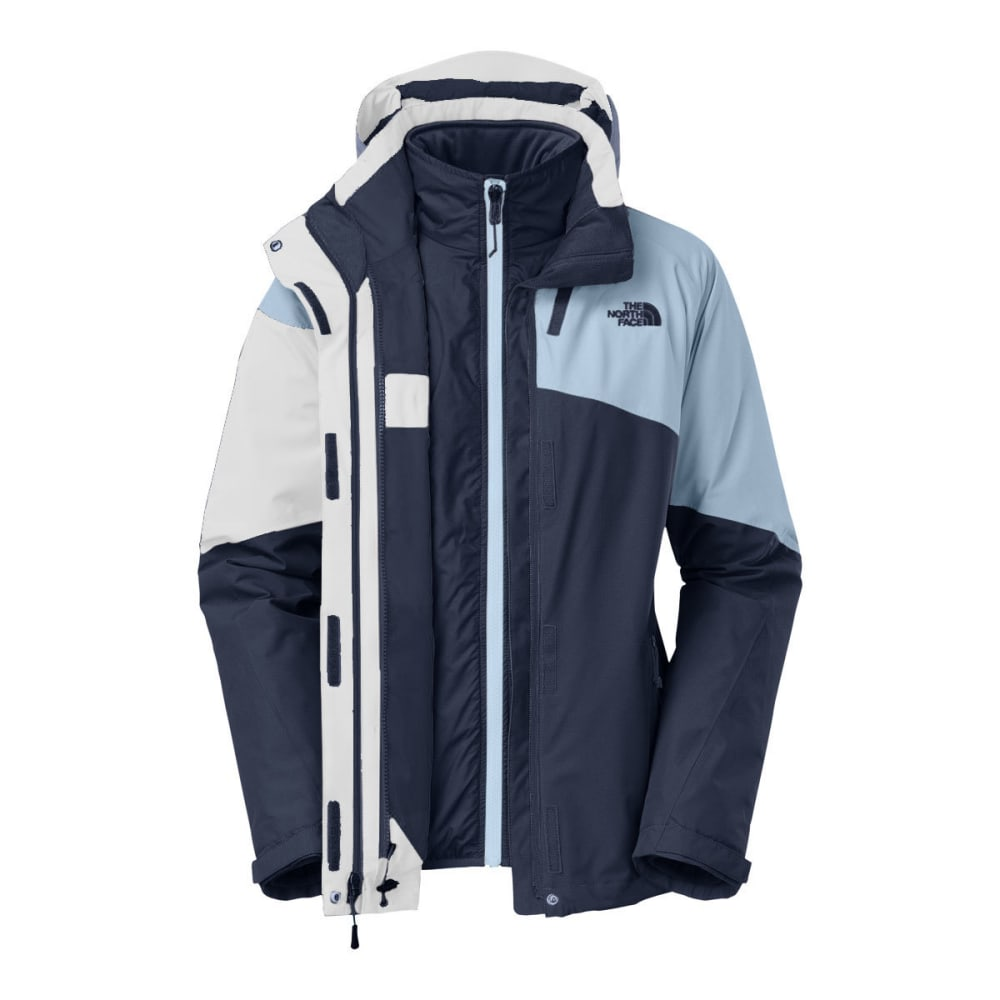THE NORTH FACE Women's Cinnabar Triclimate Jacket - URBAN NVY/WHT-M6S
