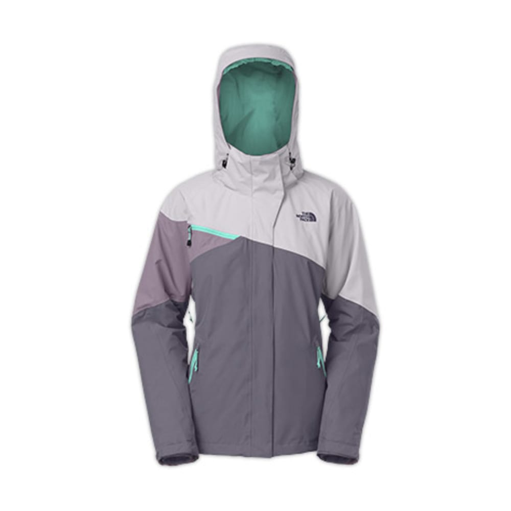 THE NORTH FACE Women's Cinnabar Triclimate Jacket - GREYSTONE BLUE/DAPPL