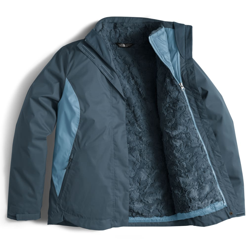THE NORTH FACE Women's Mossbud Swirl Triclimate Jacket - WLH-INK BLUE