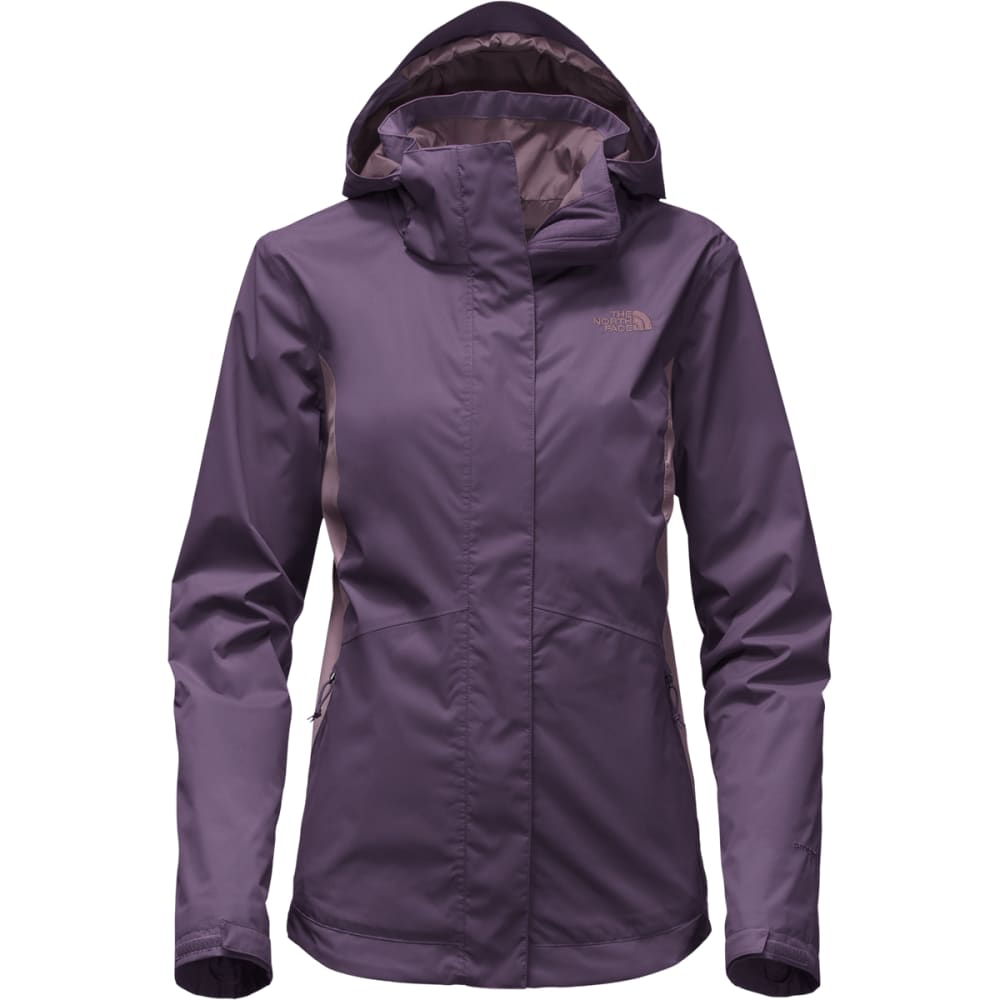 THE NORTH FACE Women's Mossbud Swirl Triclimate Jacket - WHH-DK EGGPLANT PURP