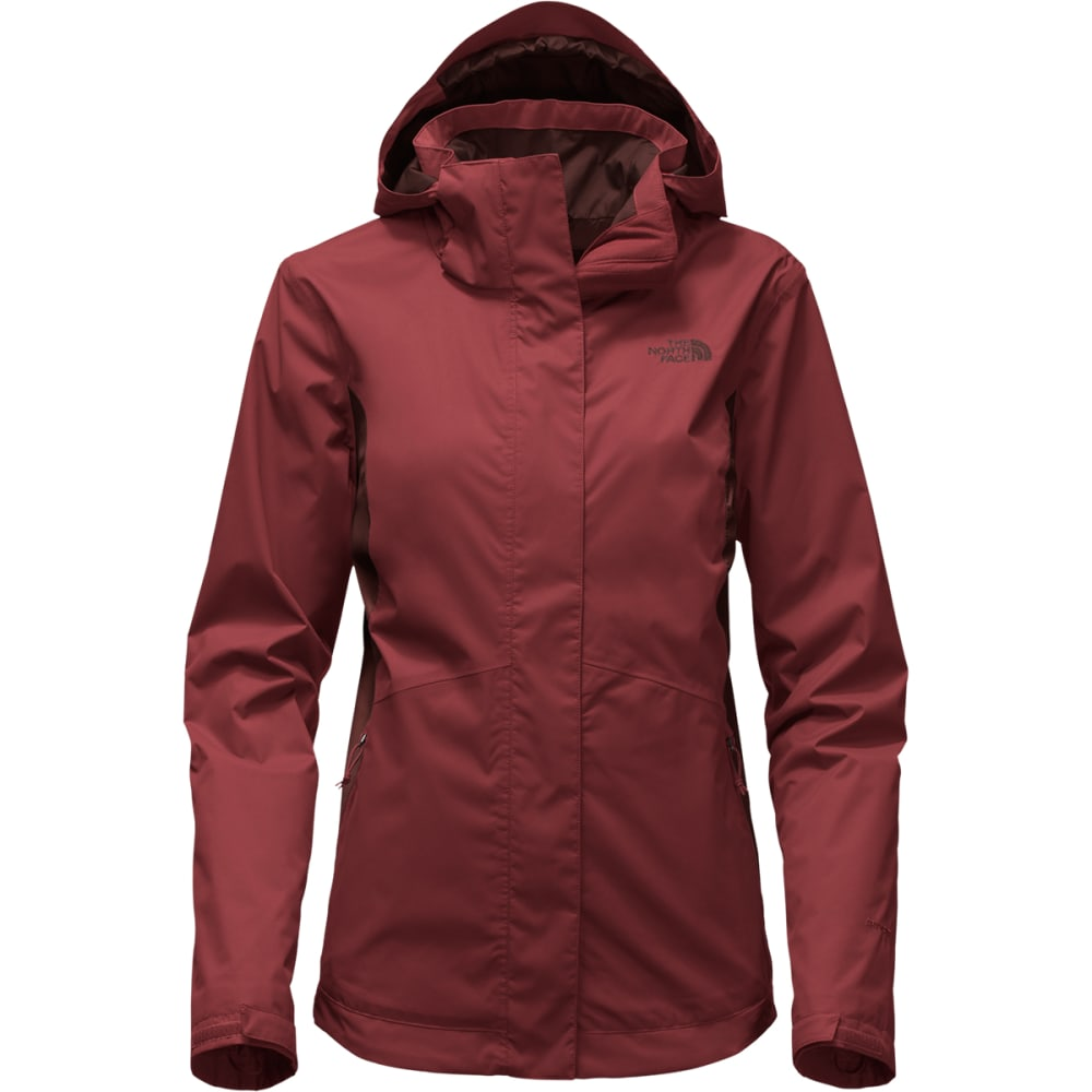 THE NORTH FACE Women's Mossbud Swirl Triclimate® Jacket - WDM-BAROLO RED/S RED