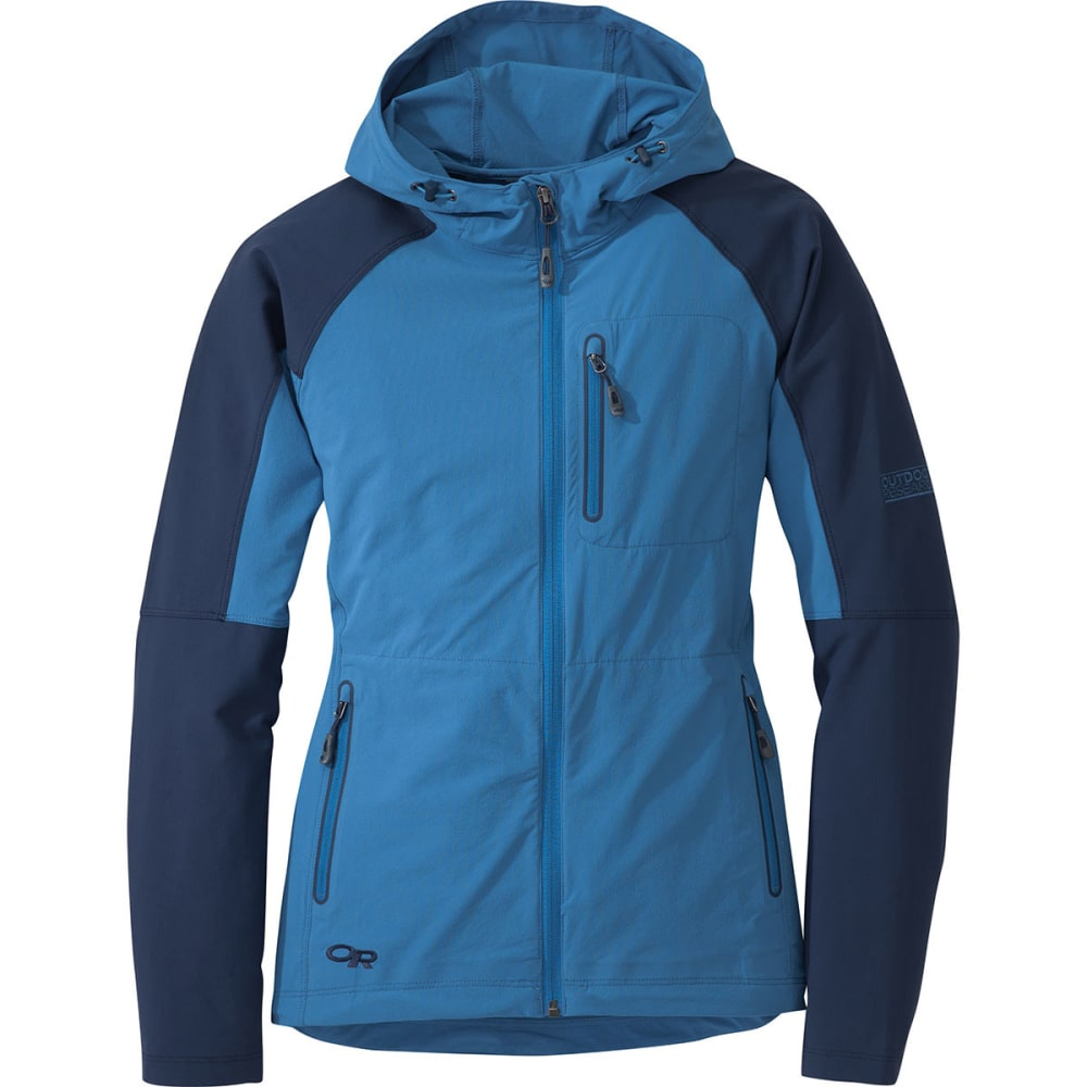 OUTDOOR RESEARCH Women's Ferrosi Hoodie - CORNFLOWER
