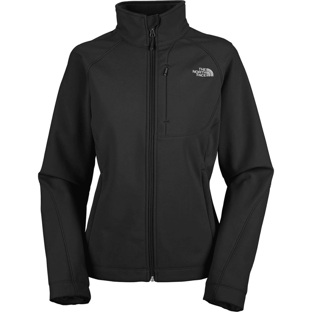 North face soft shell jacket women