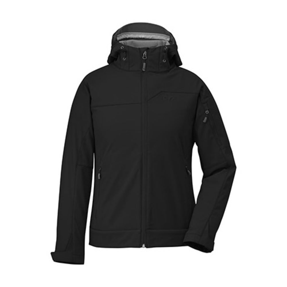 OUTDOOR RESEARCH Women's Transfer Hoodie - BLACK