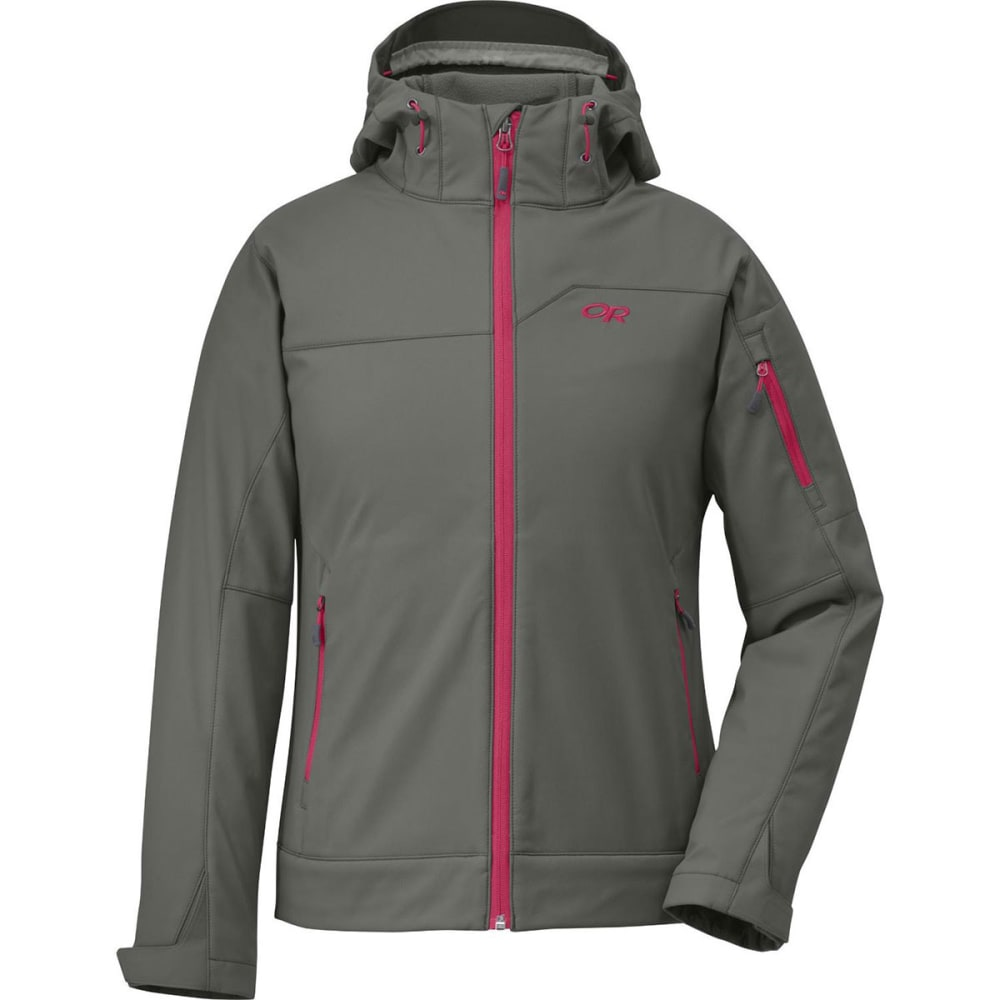OUTDOOR RESEARCH Women's Transfer Hoodie - PEWTER