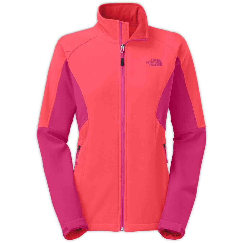THE NORTH FACE Women's Shellrock Jacket - RAMBUTAN PINK