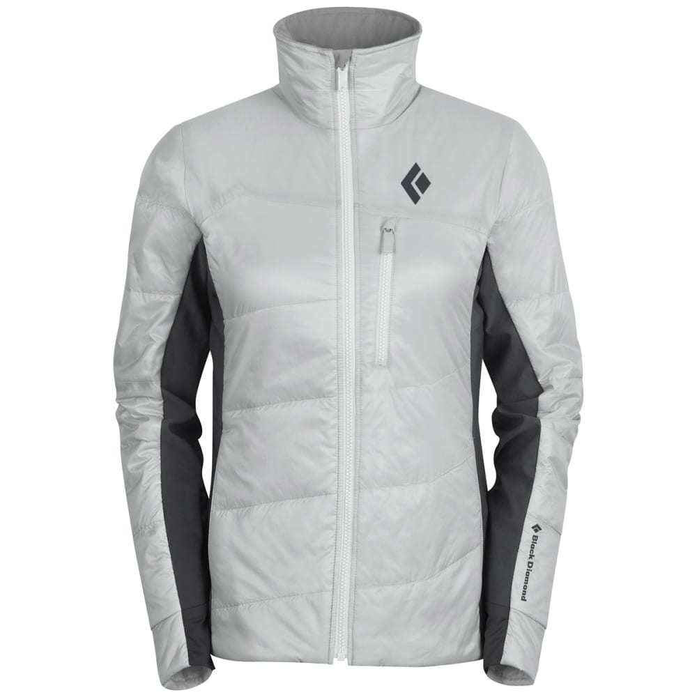 BLACK DIAMOND Women's Access Hybrid Jacket - ALUMINUM