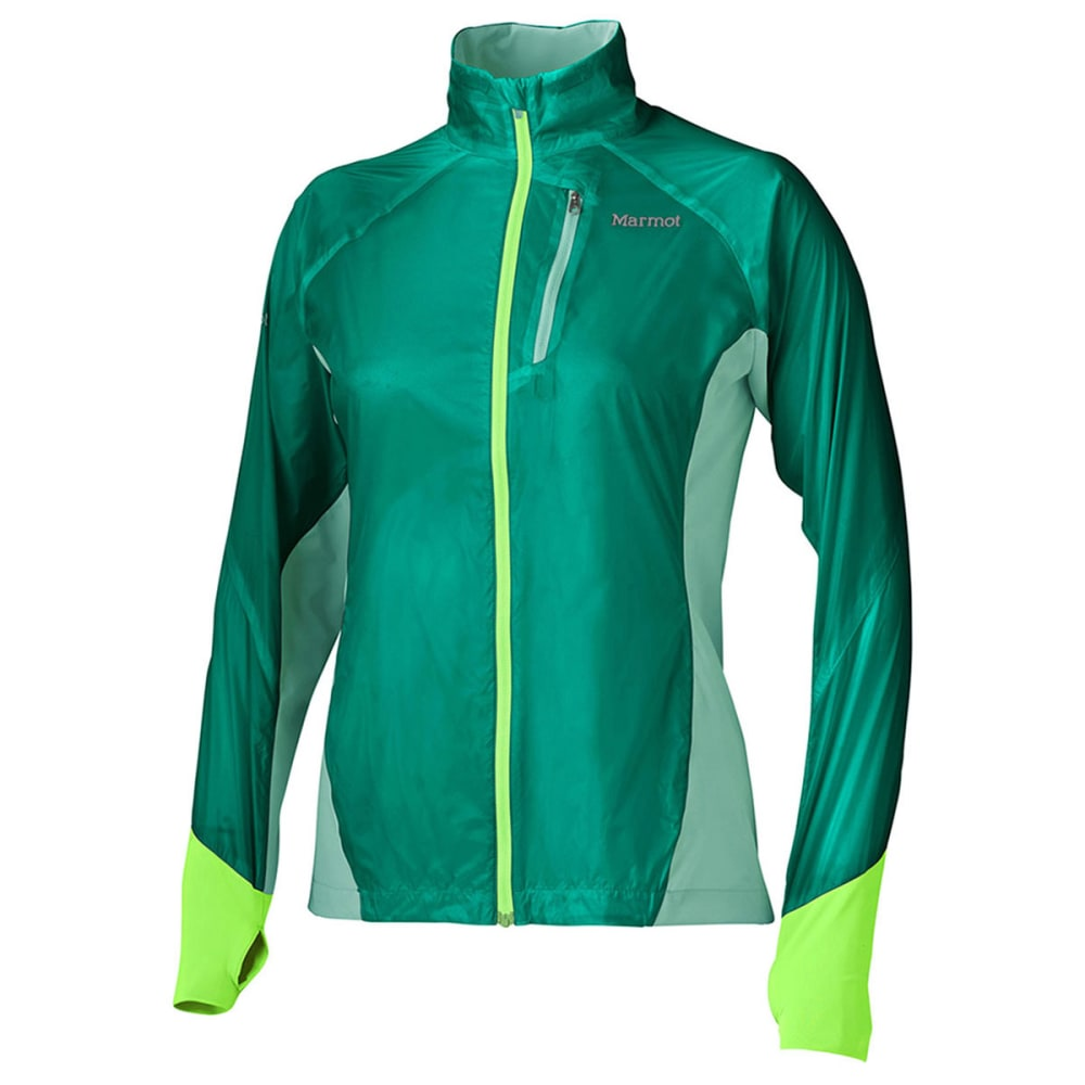 MARMOT Women's Dash Hybrid Jacket - GEM GREEN