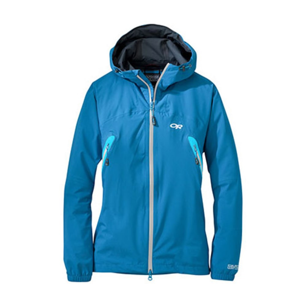 OUTDOOR RESEARCH Women's Allout Hooded Jacket - HYDRO