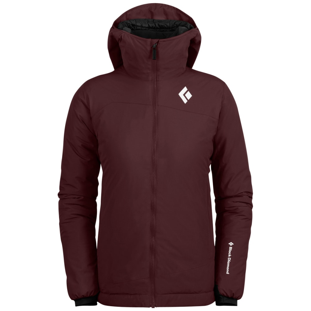 BLACK DIAMOND Women's Heat Treat Hoodie - MERLOT