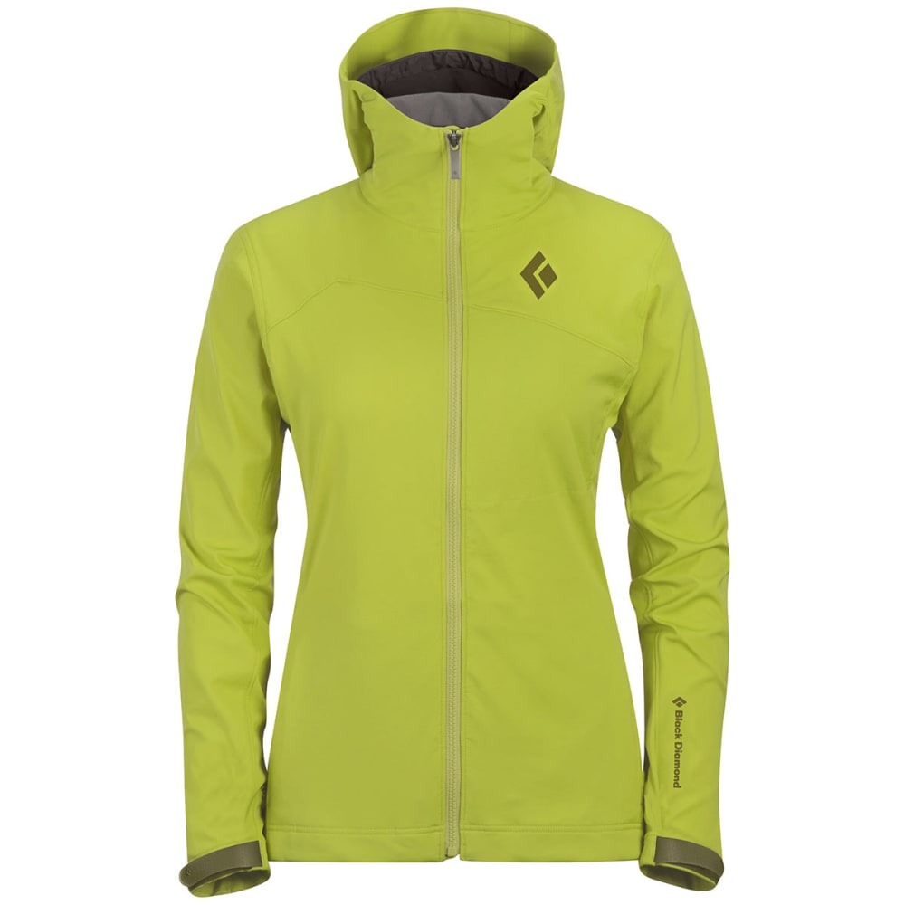 BLACK DIAMOND Women's Dawn Patrol LT Shell - ALOE