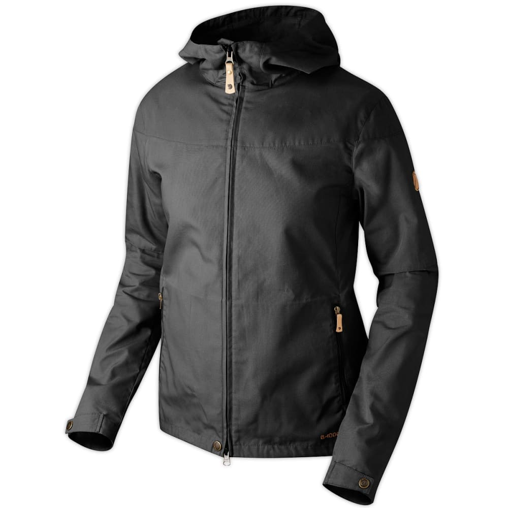 FJALLRAVEN Womens Stina Jacket - BLACK