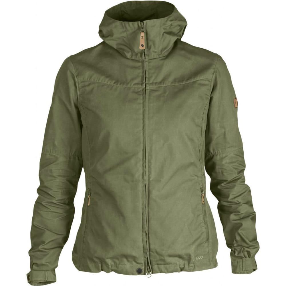 FJALLRAVEN Womens Stina Jacket - GREEN