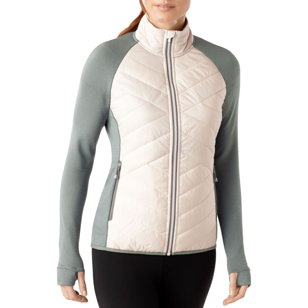 SMARTWOOL Women's Corbet 120 Jacket - NATURAL GREY