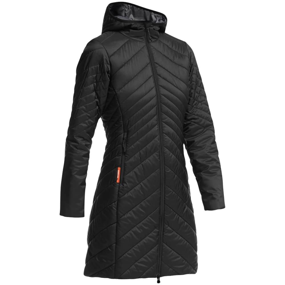 ICEBREAKER Women's Stratus 3Q Jacket - BLACK/ MONSOON/ BLAC