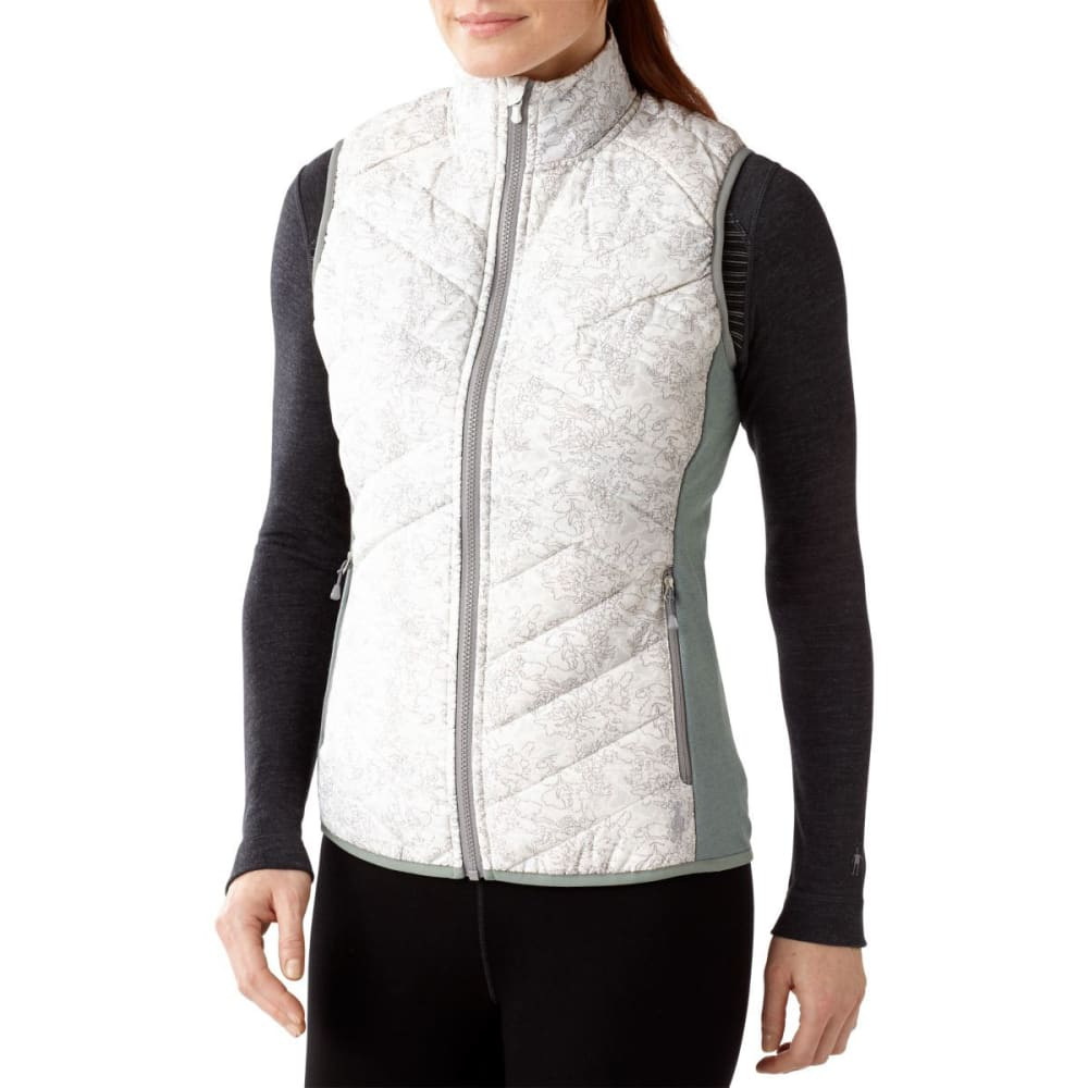 SMARTWOOL Women's Corbet 120 Printed Vest - WHITE