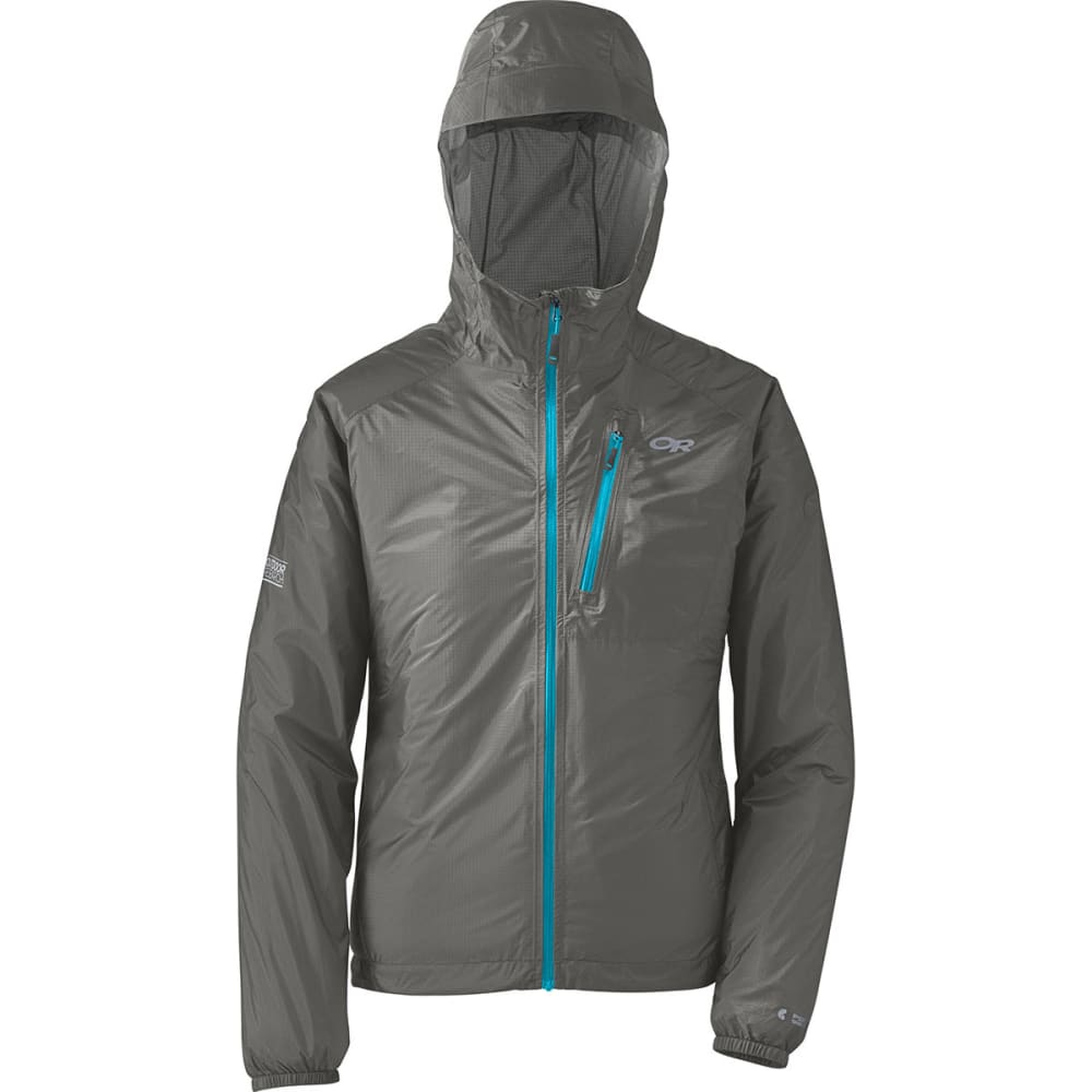 OUTDOOR RESEARCH Women's Helium II Jacket - PEWTER/RIO